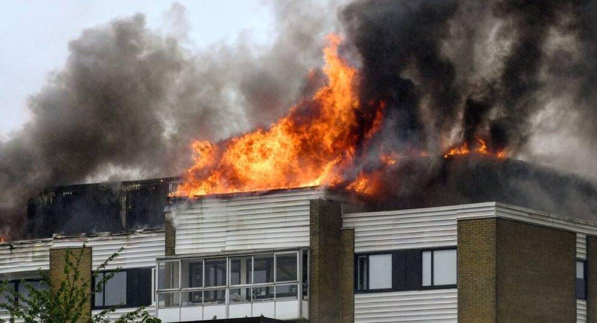 Brand i Landskrona